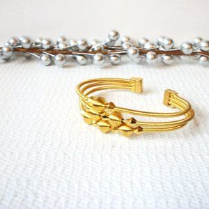 Vintage Gold Toned Cuff 121416
